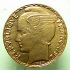Photo numismatique  Monnaies Monnaies Françaises Troisième République 100 francs or Bazor 100 Francs Bazor 1936, G.1148 SUPERBE à FDC Très belle monnaie!!