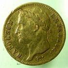 Photo numismatique  Monnaies Monnaies Française en or 1er Empire 20 Francs or NAPOLEON Ier, 20 francs or 1812 M Toulouse, ( 6498 exemplaires), G.1025 TTB