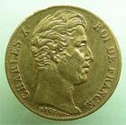 Photo numismatique  Monnaies Monnaies Fran�aises Charles X 20 Francs or CHARLES X, 20 francs 1826 W Lille, 6436 Exemplaires, G.1029 TTB+