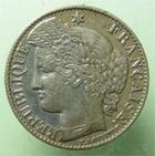 Photo numismatique  Monnaies Monnaies Françaises Troisième République 50 Centimes 50 centimes Cérès 1887 A, G.419a TTB+