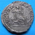 Photo numismatique  Monnaies Empire Romain CARACALLA Denier, denar, denario, denarius CARACALLA denier Rome en 207 après Jésus Christ, beau style de revers, RIC 168 TTB+