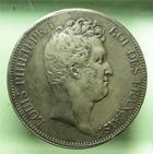 Photo numismatique  Monnaies Monnaies Fran�aises Louis Philippe 5 Francs LOUIS PHILIPPE Ier, 5 francs avec I, 1831 MA Marseille, G.676 Beau TTB