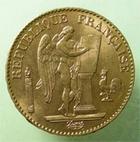 Photo numismatique  Monnaies Monnaies Fran�aises Troisi�me R�publique 20 Francs or TROISIEME REPUBLIQUE, 20 Francs or Genie, 1894 A, G.1063 TTB+