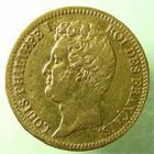 Photo numismatique  Monnaies Monnaies Françaises Louis Philippe 20 Francs or LOUIS PHILIPPE, 20 francs or au buste nu, 1831 B Rouen, tranche en relief, G.1030a, TTB+