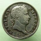 Photo numismatique  Monnaies Monnaies Françaises 1er Empire Quart de franc NAPOLEON Ier, Quart de Franc 1809 A, revers EMP.FRA, G.350 TTB