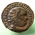 Photo numismatique  Monnaies Empire Romain LICINIUS I, LICINIO I,  Follis, folles,  LICINIUS Ier, follis frappé en Alexandrie, Iovi conservatori, monnaie de haut relief!! RIC.28 R1, SUPERBE à FDC !!!