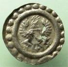 Photo numismatique  Monnaies Monnaies/medailles d'Alsace Colmar Rappen COLMAR, Rappen, 16ème siècle, aigle et ecu, EL.37 manque de métal près de l'Ecu sinon TTB Rare!!