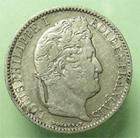 Photo numismatique  Monnaies Monnaies Françaises Louis Philippe 50 Centimes LOUIS PHILIPPE Ier, 50 centimes 1846 A, G.410 TTB