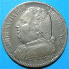 Photo numismatique  Monnaies Monnaies Françaises 1ère Restauration 5 Francs LOUIS XVIII première restauration,PIECE DE 5 francs 1814 L Bayonne, gadoury 591 TTB