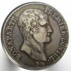 Photo numismatique  Monnaies Monnaies Françaises Consulat 5 Francs NAPOLEON Ier, Bonaparte premier consul, 5 francs AN 12 MA Marseille, G.577 TTB