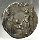Photo numismatique  Monnaies R�publique Romaine 137 av Jc Denier, denar, denario, denarius TI.VENTURIUS, Denier Rome en 137 avant Jc, Roma, RRC.234/1, S.111, tr�s beau style !!!   SUPERBE