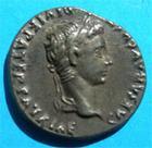 Photo numismatique  Monnaies Empire Romain 1er Siècle AUGUSTE Denier, denar, denario, denarius AUGUSTE Denier Lyon 2 av/ 4ap caius et lucius Superbe