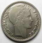 Photo numismatique  Monnaies Monnaies Françaises Gouvernement Provisoire 10 Francs 10 Francs Turin 1946 B Rameaux longs, G.810 SUPERBE + Rare!! Belle qualité!!