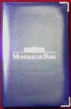 Photo numismatique  Monnaies Monnaies Françaises Cinquième république Serie BE, Belle épreuve, polierte plate, proof BE 2001, du 1 centime au 100 francs, avec certificat, BE