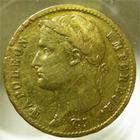 Photo numismatique  Monnaies Monnaies Française en or Second Empire 20 Francs or NAPOLEON Ier, 20 francs or 1812 A, G.1025 TTB