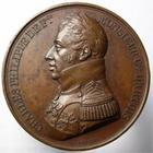 Photo numismatique  Monnaies Médailles 19ème siècle Médaille bronze CHARLES PHILIPPE, 12 avril 1814, Rien n'est changé, il n'y a qu'un Français de plus, médaille en bronze 40.50 mm, Quasi SUPERBE