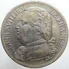 Photo numismatique  Monnaies Monnaies Françaises 1ère Restauration 5 Francs LOUIS XVIII, 5 francs 1814 M Toulouse, buste habillé, G.591 Rayure au revers sinon TTB