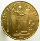 Photo numismatique  Monnaies Monnaies Françaises Troisième République 20 Francs or 20 Francs or Genie, 1896 A Torche!!, G.1063 Presque SUPERBE cette variété est très rare!!