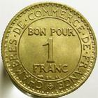 Photo numismatique  Monnaies Monnaies Françaises Troisième République 1 Franc 1 Franc Domard 1922, G.468 SUPERBE à FDC