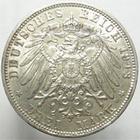 Photo numismatique  Monnaies Monnaies étrangères Allemagne Bayern (Bavière) 3 Mark BAYERN, BAVIERE, 3 mark, Otto, 1913 D, J.47 SUPERBE+