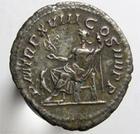 Photo numismatique  Monnaies Empire Romain CARACALLA Antoninien, antoninianus, antoniniane CARACALLA, antoninien, Rome en 215, Jupiter assis à gauche, 4.61 grammes, RIC.260b TTB+