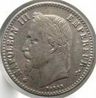 Photo numismatique  Monnaies Monnaies Françaises Second Empire 50 Centimes NAPOLEON III, 50 centimes 1866 BB Strasbourg, G.417 TTB