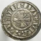Photo numismatique  Monnaies Monnaies F�odales Auvergne Denier, denar, denario, denarius AUVERGNE, Ev�ch� de Clermont, XIII�me si�cle, denier anonyme, DY.830 TTB+