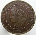 Photo numismatique  Monnaies Monnaies Françaises Troisième République 2 Centimes 2 centimes Cérès 1892 A, G.105 TTB+