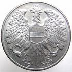 Photo numismatique  Monnaies Monnaies étrangères Autriche, Austria, osterreich 5 schilling AUSTRIA, Autriche, 5 schilling aluminium 1952, KM.2879 SUPERBE
