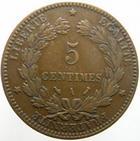 Photo numismatique  Monnaies Monnaies Fran�aises Troisi�me R�publique 5 Centimes 5 centimes C�r�s 1894 A, G.157a TTB