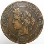 Photo numismatique  Monnaies Monnaies Fran�aises Troisi�me R�publique 10 Centimes 10 centimes C�r�s 1884 A, G.265a TTB