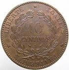 Photo numismatique  Monnaies Monnaies Fran�aises Troisi�me R�publique 10 Centimes 10 centimes C�r�s 1892 A, G.265a TTB+