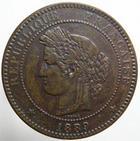 Photo numismatique  Monnaies Monnaies Françaises Troisième République 10 Centimes 10 centimes Cérès 1889 A, G.265a TTB