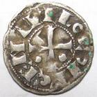 Photo numismatique  Monnaies Monnaies Féodales Aquitaine Obole AQUITAINE, Seigneurie de Béarn, 11ème/15ème siècle, les Centulles, obole, PA.3235 TTB+