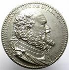 Photo numismatique  Monnaies Médailles 19ème siècle Epreuve en étain Epreuve en étain, MAXI DE BETHUNE DUC DE SULLY G.M DE, diamètre 43.70 mm, uniface, TTB à SUPERBE