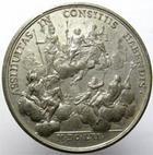 Photo numismatique  Monnaies Médailles 19ème siècle Epreuve en étain Epreuve en étain, ASSIDUITAS CONSILIIS HABENDIS, diamètre 40.78 mm, uniface, TTB+