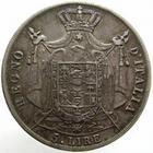 Photo numismatique  Monnaies Monnaies Françaises Napoleonides 5 Lires NAPOLEON Ier, 5 lires 1813 M Milan, Gigante 115 TB+/TTB