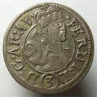 Photo numismatique  Monnaies Monnaies/medailles d'Alsace Ensisheim 3 Kreuzers ENSISHEIM, Landgravia d'Alsace, FERDINAND, 3 Kreuzers non daté, variété au niveau du cercle central, Klemesch 255 Variante, TTB