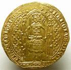 Photo numismatique  Monnaies Monnaies royales en or Charles V Franc à pied CHARLES V, Franc à pied, 20 Avril 1356, 3.84 grammes, DY.360 TTB+
