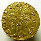 Photo numismatique  Monnaies Monnaies royales en or Jean le Bon florin JEAN LE BON, Florin d'or 1350.1364, Emission du Languedoc, 3.47 grammes, DY.346 TTB+ R!