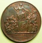 Photo numismatique  Monnaies Médailles Epidemie Médaille bronze EPIDEMIE DE CHOLERA, médaille en bronze de 37.50mm, gravé par Gayrard F., 1832, petits coups sur tranche TTB