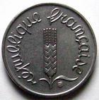 Photo numismatique  Monnaies Monnaies Françaises Cinquième république 1 centimes épi 1 centimes epi 1969, G.91 FDC