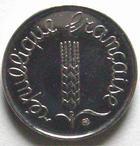 Photo numismatique  Monnaies Monnaies Françaises Cinquième république 1 centimes épi 1 centime epi 1998, G.91 FDC