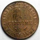 Photo numismatique  Monnaies Monnaies Françaises Troisième République 1 Centime 1 centime cérès 1890 A, G.88 Tchée sinon SUPERBE