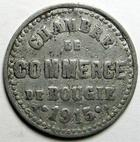 Photo numismatique  Monnaies Anciennes colonies Françaises Algerie, Algeria Bougie, la Bougie BOUGIE, LA BOUGIE, 5 centimes 1915, Chambre de commerce de bougie, E.10.1 TTB
