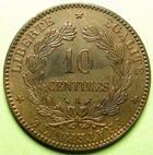 Photo numismatique  Monnaies Monnaies Fran�aises Troisi�me R�publique 10 Centimes 10 Centimes C�r�s 1889 A Paris, G.265a SUPERBE