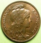 Photo numismatique  Monnaies Monnaies Françaises Troisième République 10 Centimes 10 Centimes Dupuis 1898, G.277 SUPERBE+