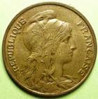 Photo numismatique  Monnaies Monnaies Françaises Troisième République 10 Centimes 10 Centimes Dupuis 1899, G.277 SUPERBE+
