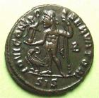 Photo numismatique  Monnaies Empire Romain LICINIUS I, LICINIO I,  Follis, folles,  LICINIUS I, Follis Siscia, IOVI CONSERVATORI, 3.97 Grms, RIC.8 SUPERBE+