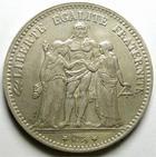 Photo numismatique  Monnaies Monnaies Françaises Troisième République 5 Francs 5 francs type Hercule 1878 K Bordeaux, G.745a TTB+